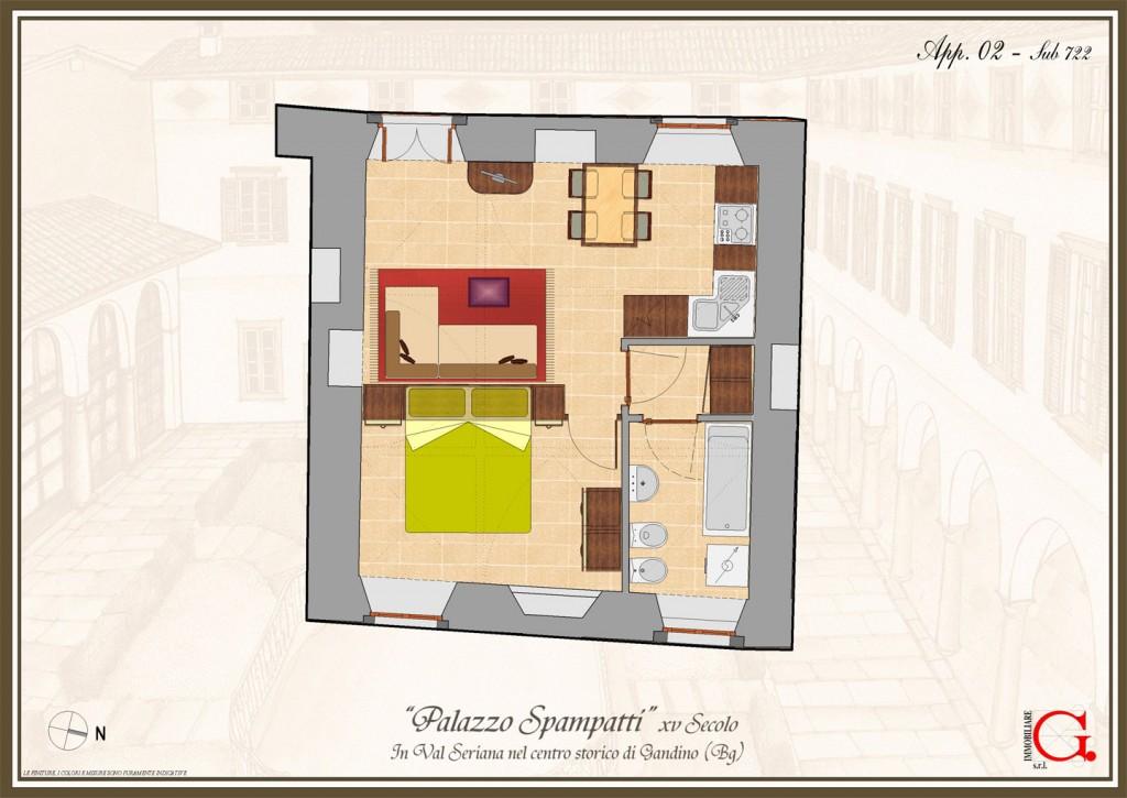 Vendita appartamento per una persona gandino edile - Agevolazioni prima casa 2017 giovani ...