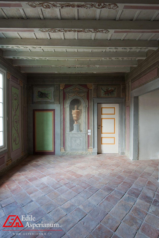 Quadrilocale affrescato in vendita a Gandino – Bergamo