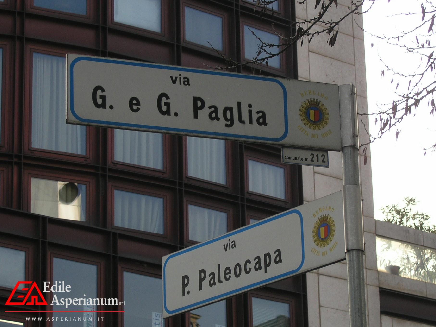 Box Auto Bergamo Centro (via Paglia – via Paleocapa) Vendita / Affitto