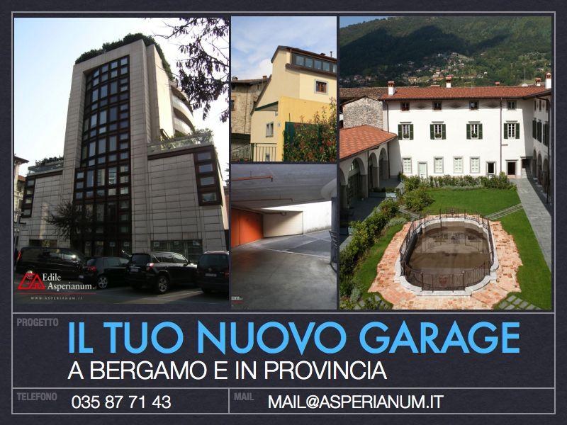 Affitto e vendita garage a bergamo e provincia for Monolocale affitto bergamo e provincia