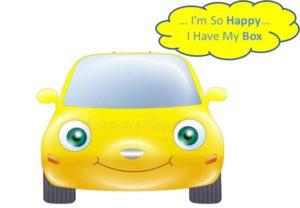 Auto felice per Box Edile Asperianum