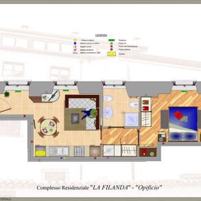 Bilocale in Affitto alla Filanda di Gorlago – Bergamo (cod08)