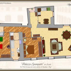Villa in contesto Storico con Giardino – Gandino (Bergamo)